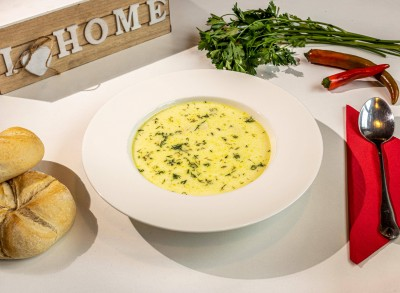 Supă de pui a la grec