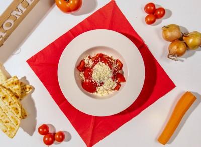 Salată de roșii cu brânză