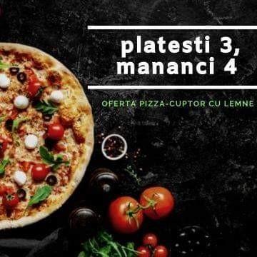 Oferta Pizza 3+1 Gratis  | Comanda acum